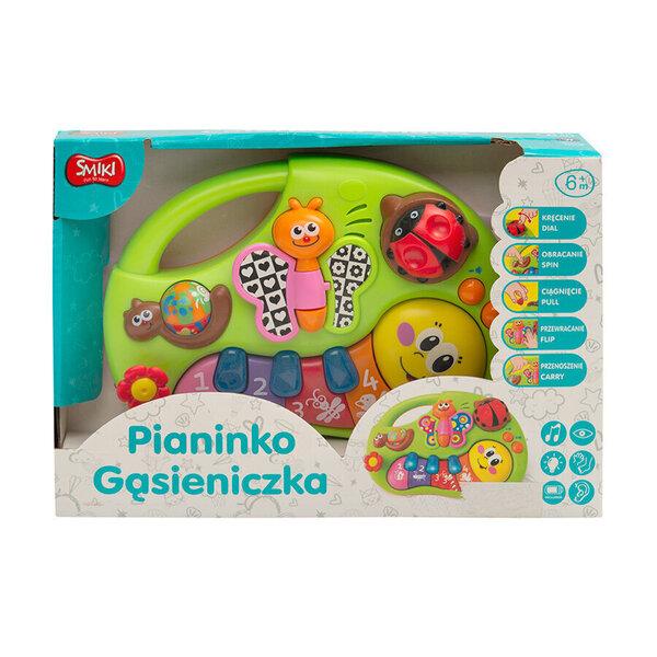 Mūzikas rotaļu klavieres Simtkājis Smiki, 6604266