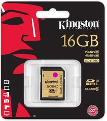 Kingston 16GB SDHC Class10 UHS-I