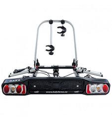 HAKR Trip 2 Middle складное велосипедноекрепление на 2 велосипеда, устанавливаемый к автомобильному крюку цена и информация | HAKR Trip 2 Middle складное велосипедноекрепление на 2 велосипеда, устанавливаемый к автомобильному крюку | 220.lv