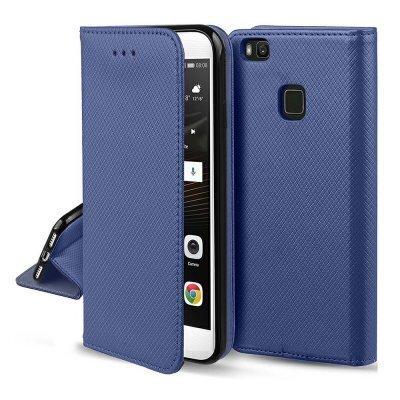 Hallo Smart Magnet Book Case Grāmatveida Maks Telefonam Samsung Galaxy A20S Zils cena un informācija | Maciņi, somiņas | 220.lv