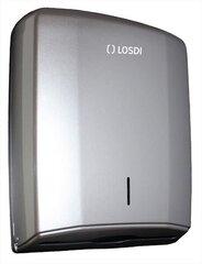 Papīra dozators LOSDI ABS pelēks 600 gab. Elegance cena un informācija | Papīra dozators LOSDI ABS pelēks 600 gab. Elegance | 220.lv