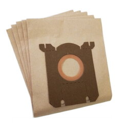 Putekļu sūcēju maisi Invest Eco Paper AEG/Electrolux/Philips (5 gab.) cena un informācija | Putekļu sūcēju maisi Invest Eco Paper AEG/Electrolux/Philips (5 gab.) | 220.lv