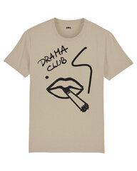 Unisekss T-krekls Drama club, bēšs cena un informācija | T-krekli sievietēm | 220.lv