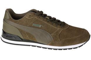 Sporta apavi vīriešiem Puma St Runner V2 SD 365279-16, zaļi cena un informācija | Sporta apavi vīriešiem | 220.lv