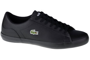 Kedas vīriešiem Lacoste Lerond 0120 740CMA002702H, melnas cena un informācija | Sporta apavi vīriešiem | 220.lv