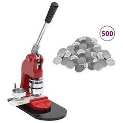 vidaXL nozīmīšu izgatavošanas ierīce, 500 pamatnes, 25 mm цена и информация | vidaXL nozīmīšu izgatavošanas ierīce, 500 pamatnes, 25 mm | 220.lv