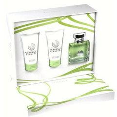 Komplekts Versace Versense: edt 50 ml + ķermeņa losjons 50 ml + dušas želeja 50 ml cena un informācija | Smaržu komplekti | 220.lv
