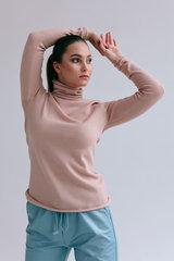 Bītlene pūder rozā krāsā 100% merino, PURE LINE cena un informācija | Džemperi sievietēm | 220.lv