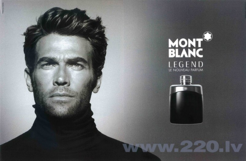 Tualetes ūdens Mont Blanc Legend edt 100 ml internetā