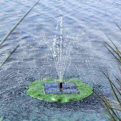 HI saules enerģijas strūklakas sūknis Lotus Leaf, peldošs cena un informācija | Strūklaku sūkņi | 220.lv