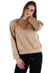 Sieviešu džemperis, brūns cena un informācija | Jakas sievietēm | 220.lv