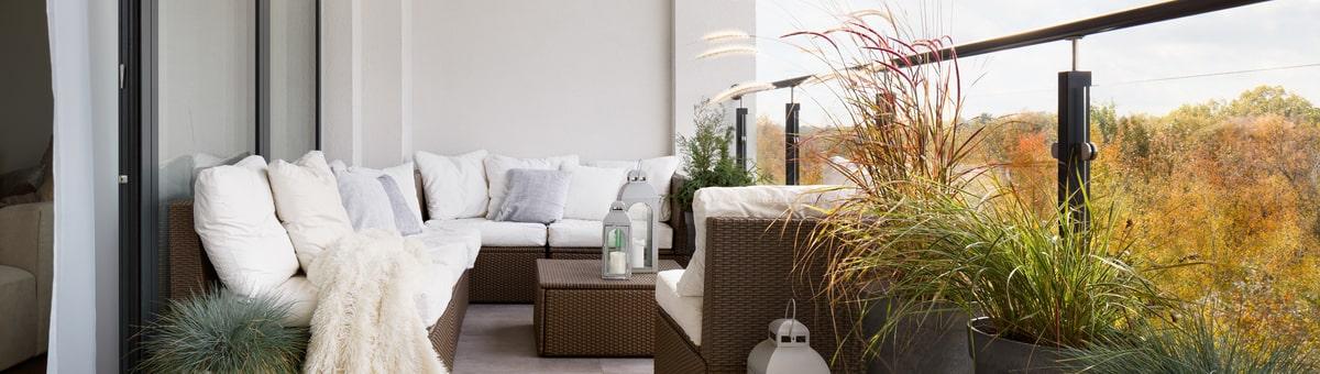 Balkonu un terašu dizaina aktualitātes - funkcionalitāte, zaļā telpa un eklektika